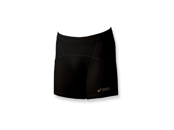 ASICS TI コアバランス インナーパンツ (バレーボール プラクティスウェアー インナーウェアー)ブラック(90)【スポーツ用品 > チーム スポーツ > バレーボール】【ASICS/アシックス】/XW1501