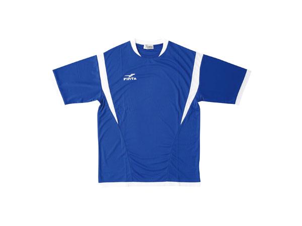 FINTA ゲームシャツ (フットサル&サッカー プラクティスウェアー 半袖プラシャツ)ブルー(021)【スポーツ用品 > チーム スポーツ > サッカー】【FINTA/フィンタ】/FT5024