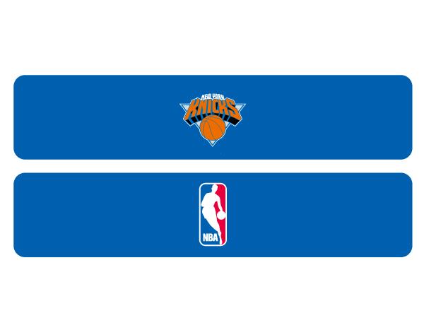 NBAヘアバンド (バスケットボール アクセサリー・グッズ ヘアーバンド・リストバンド)KNICKS(NBA74356)【スポーツ用品 > チーム スポーツ > バスケットボール】【GALLERY・2】/NBAHAIRBAND