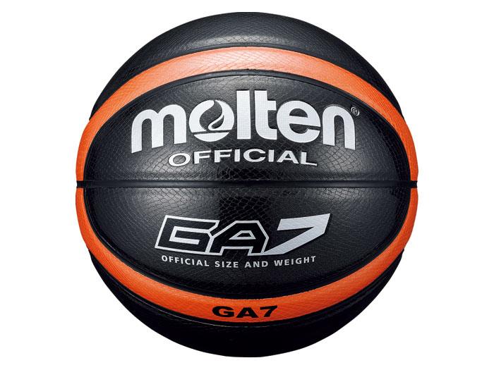 molten 合皮バスケGA7 (バスケットボール ボール 7号球)ブラック【スポーツ用品 > チーム スポーツ > バスケットボール】【molten/モルテン】/BGA7-KO