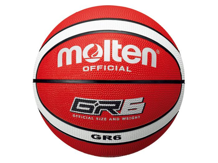 molten GR6 (バスケットボール ボール 6号球)レッド×ホワイト【スポーツ用品 > チーム スポーツ > バスケットボール】【molten/モルテン】/BGR6-RW