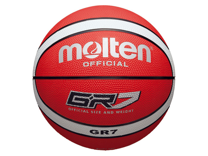 molten GR7 (バスケットボール ボール 7号球)レッド×ホワイト【スポーツ用品 > チーム スポーツ > バスケットボール】【molten/モルテン】/BGR7-RW