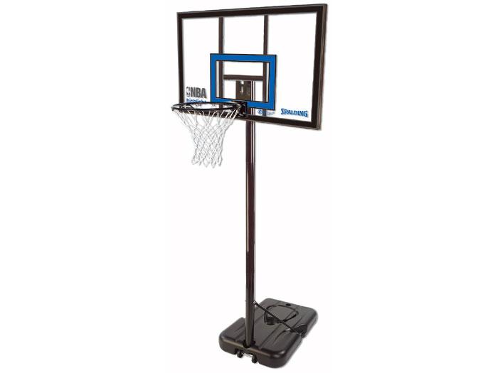 SPALDING NBA ハイライトアクリル ポータブル 42インチ (バスケットボール バスケットゴール)42インチ【スポーツ用品 > チーム スポーツ > バスケットボール】【SPALDING/スポルディング】/77455CN
