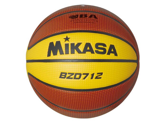 MIKASA バスケットボール検定球7号 (バスケットボール ボール 7号球)ブラウン【スポーツ用品 > チーム スポーツ > バスケットボール】【MIKASA/ミカサ】/BZD712