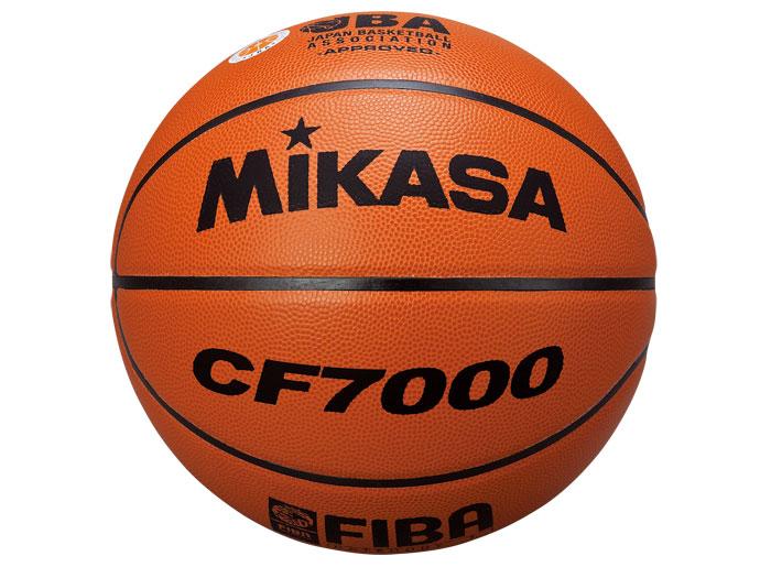 MIKASA バスケットボール7号検定球 (バスケットボール ボール 7号球)【スポーツ用品 > チーム スポーツ > バスケットボール】【MIKASA/ミカサ】/CF7000