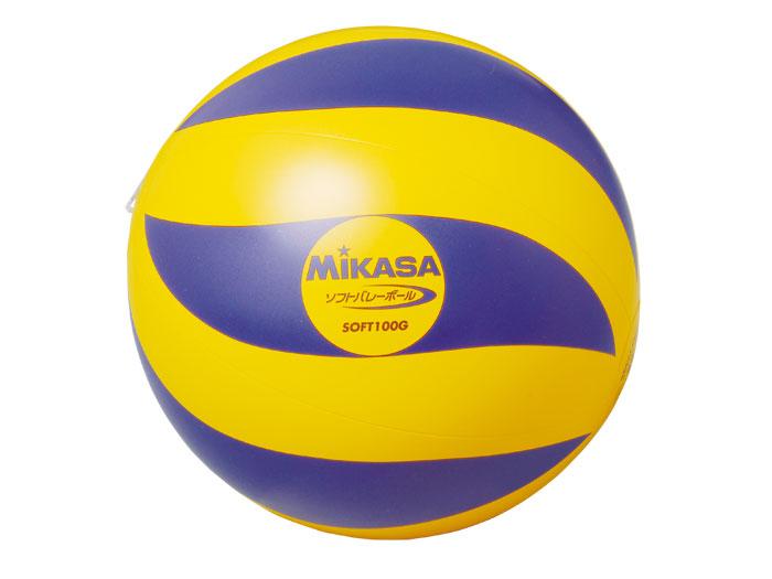 MIKASA ソフトバレーボール (バレーボール ボール ソフトバレーボール)【スポーツ用品 > チーム スポーツ > バレーボール】【MIKASA/ミカサ】/SOFT100G