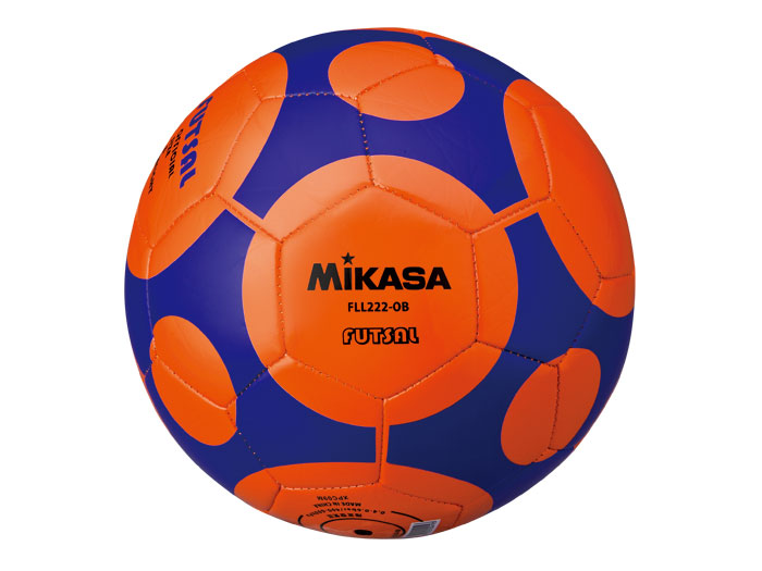 MIKASA フットサルレジャー用 (フットサル&サッカー ボール フットサルボール)オレンジ(OB)【スポーツ用品 > チーム スポーツ > サッカー】【MIKASA/ミカサ】/FLL222