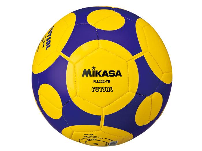 MIKASA フットサルレジャー用 (フットサル&サッカー ボール フットサルボール)イエロー(YB)【スポーツ用品 > チーム スポーツ > サッカー】【MIKASA/ミカサ】/FLL222