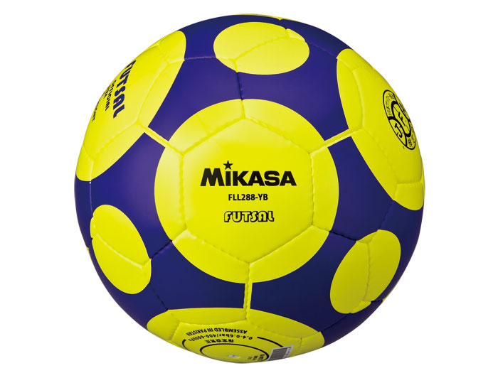 MIKASA フットサル検定球 (フットサル&サッカー ボール フットサルボール)イエロー(YB)【スポーツ用品 > チーム スポーツ > サッカー】【MIKASA/ミカサ】/FLL288