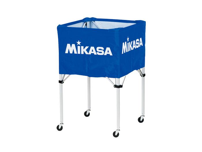 MIKASA ワンタッチ式ボ-ルカゴ(背高) (バスケットボール ボール アクセサリー・グッズ)ブルー(BL)【スポーツ用品 > チーム スポーツ > バスケットボール】【MIKASA/ミカサ】/BCSPH