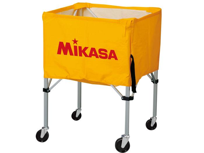 MIKASA ワンタッチ式ボ-ルカゴ(背高) (バスケットボール ボール アクセサリー・グッズ)イエロー(Y)【スポーツ用品 > チーム スポーツ > バスケットボール】【MIKASA/ミカサ】/BCSPH