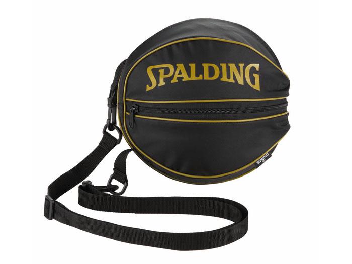SPALDING ボールバック (バスケットボール ボール アクセサリー・グッズ)ブラック×ゴールド【スポーツ用品 > チーム スポーツ > バスケットボール】【SPALDING/スポルディング】/49-001