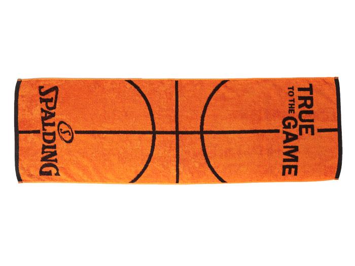 SPALDING ボールモチーフタオル (バスケットボール アクセサリー・グッズ タオル)オレンジ【スポーツ用品 > チーム スポーツ > バスケットボール】【SPALDING/スポルディング】/SAT130290