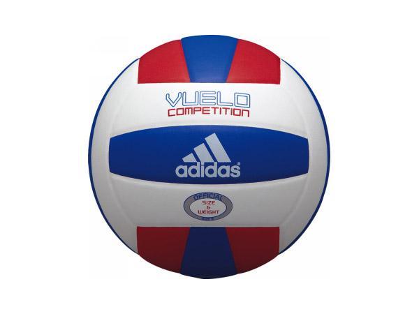 adidas ブエロ コンペティション (バレーボール ボール 5号球)ホワイト×レッド×ブルー【スポーツ用品 > チーム スポーツ > バレーボール】【adidas/アディダス】/AV514RB