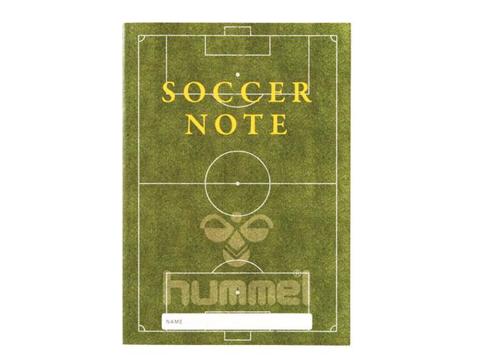 hummel サッカーノート (フットサル&サッカー アクセサリー・グッズ その他)B5【スポーツ用品 > チーム スポーツ > サッカー】【hummel/ヒュンメル】/HFA9021