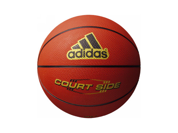 adidas コートサイド 6号球 (バスケットボール ボール 6号球)ブラウン【スポーツ用品 > チーム スポーツ > バスケットボール】【adidas/アディダス】/AB6122BR