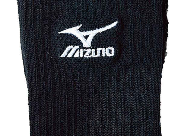 MIZUNO ソックス (バレーボール プラクティスウェアー ソックス)ブラック×ホワイト(89)【スポーツ用品 > チーム スポーツ > バレーボール】【MIZUNO/ミズノ】/59UF910