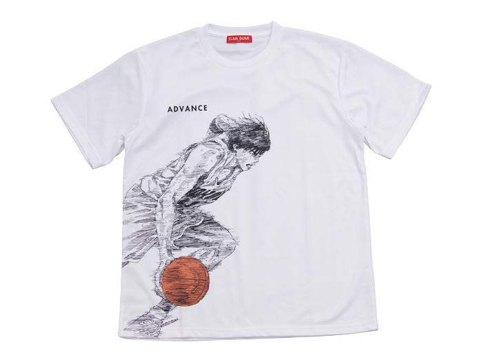 流川/ADVANCE (バスケットボール INOUE TAKEHIKO GOODS)ホワイト【スポーツ用品 > チーム スポーツ > バスケットボール】【GALLERY・2】/DTS07