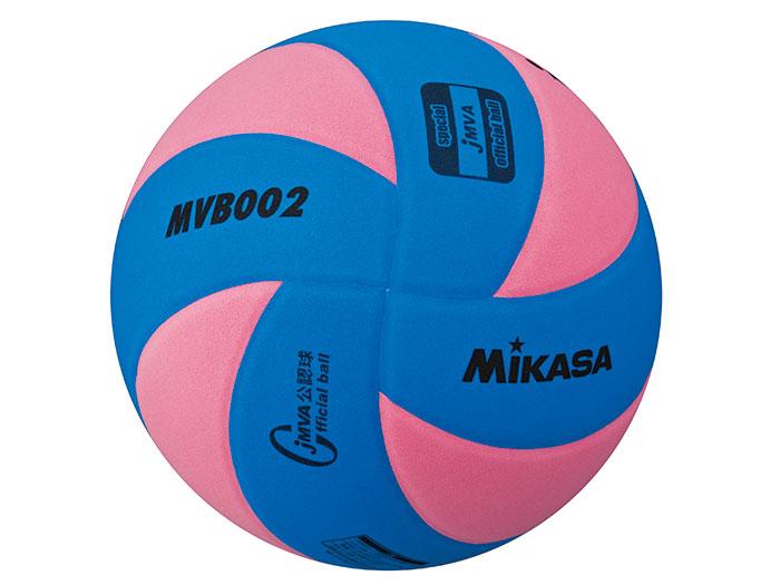 MIKASA 混合バレー試合球 5号球 (バレーボール ボール 5号球)ブルー×ピンク【スポーツ用品 > チーム スポーツ > バレーボール】【MIKASA/ミカサ】/MVB002BP