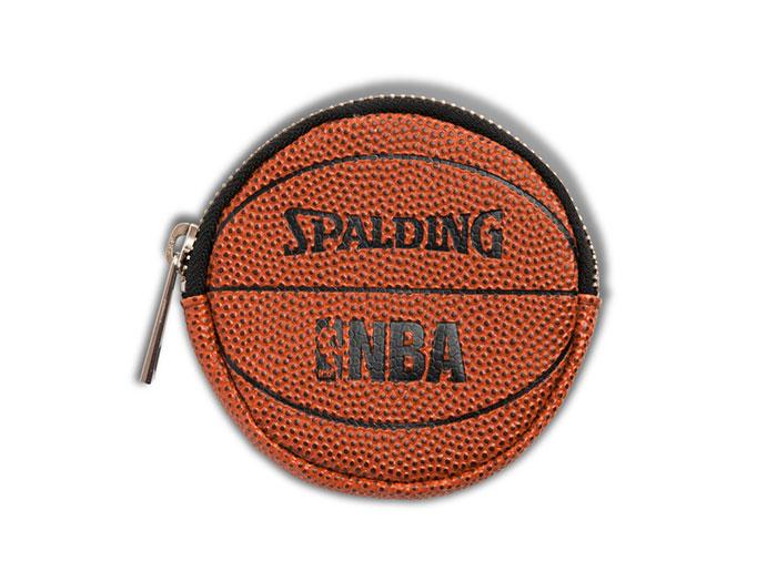 SPALDING NBA ボールコインケース (バスケットボール アクセサリー・グッズ NBA)オレンジ【スポーツ用品 > チーム スポーツ > バスケットボール】【SPALDING/スポルディング】/13-002