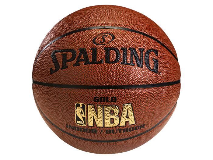 SPALDING ゴールドレザーJBA 6号球 (バスケットボール ボール 6号球)ブラウン【スポーツ用品 > チーム スポーツ > バスケットボール】【SPALDING/スポルディング】/74-614Z