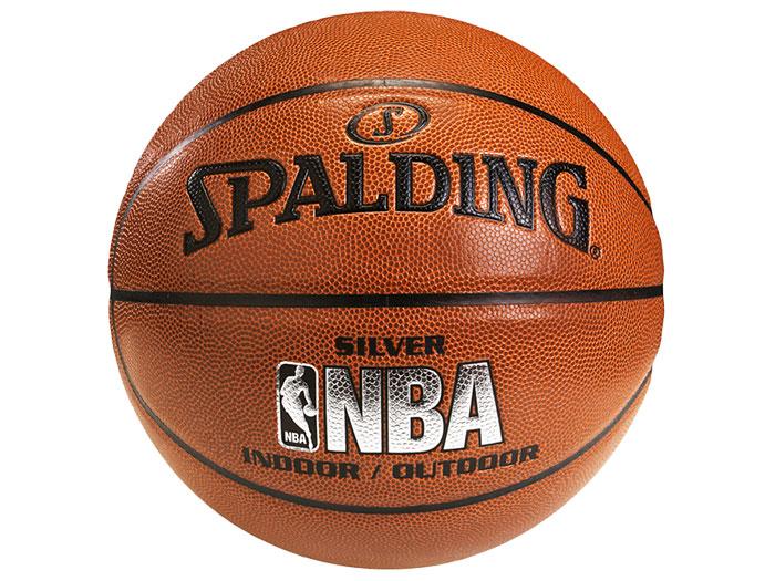SPALDING シルバーレザー 7号球 (バスケットボール ボール 7号球)【スポーツ用品 > チーム スポーツ > バスケットボール】【SPALDING/スポルディング】/74-556Z