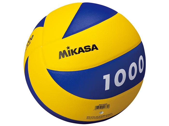 MIKASA バレー トレーニングボール 5号 (バレーボール ボール 5号球)イエロー×ブルー【スポーツ用品 > チーム スポーツ > バレーボール】【MIKASA/ミカサ】/MVT1000