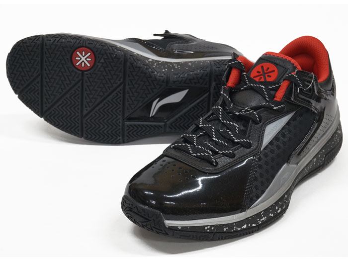 LI-NING WADE 0808 LOW (バスケットボール シューズ シューズ)BLACK/RED【スポーツ用品 > チーム スポーツ > バスケットボール】【LI-NING/リーニン】/ABAK021