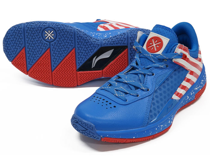 LI-NING WADE 0808 LOW (バスケットボール シューズ シューズ)BLUE/RED【スポーツ用品 > チーム スポーツ > バスケットボール】【LI-NING/リーニン】/ABAK021