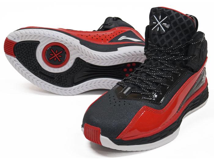 LI-NING WADE FISSION 2 (バスケットボール シューズ シューズ)BLACK/RED【スポーツ用品 > チーム スポーツ > バスケットボール】【LI-NING/リーニン】/ABFK011