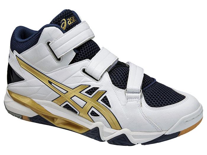 ASICS CYBERZERO (バレーボール バレーボールシューズ 定番モデル)ホワイト×ゴールド(0194)【スポーツ用品 > チーム スポーツ > バレーボール】【ASICS/アシックス】/TVR476