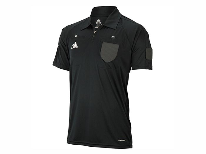 adidas レフリー ベーシックジャージーSS (フットサル&サッカー レフリー ウェアー)ブラック【スポーツ用品 > チーム スポーツ > サッカー】【adidas/アディダス】/X47557