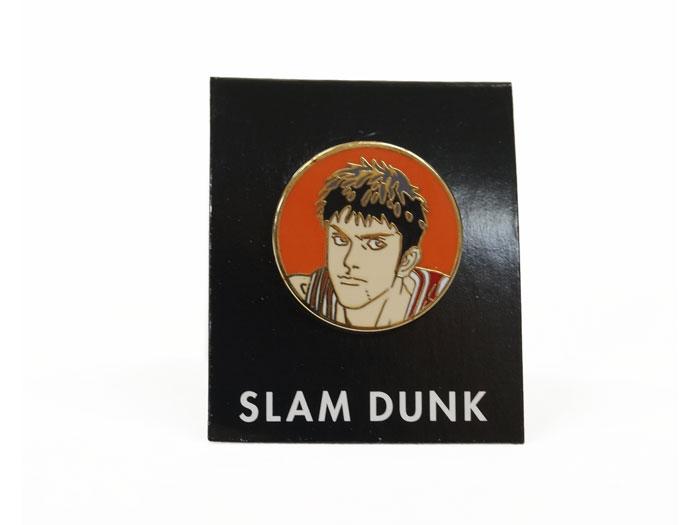 SLAM DUNK ピンバッチ その弐 (バスケットボール INOUE TAKEHIKO GOODS)三井01(DP-11)【スポーツ用品 > チーム スポーツ > バスケットボール】【GALLERY・2】/DP-PINS-2