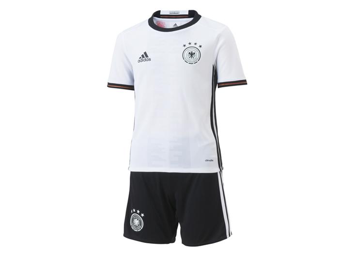 adidas ドイツ代表 2016 ホーム ミニキット (フットサル&サッカー ユニフォーム ナショナルチーム)ホワイト×ブラック【スポーツ用品 > チーム スポーツ > サッカー】【adidas/アディダス】/AA0139