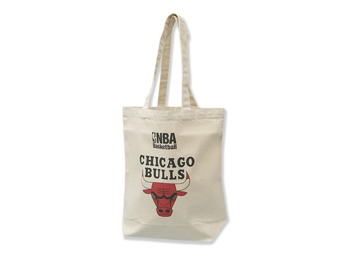 NBA キャンバストートバッグ(M) BULLS (バスケットボール NBA アクセサリー・グッズ)BULLS【スポーツ用品 > チーム スポーツ > バスケットボール】【GALLERY・2】/NBA29966