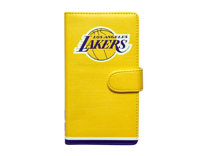 NBA iPhone6手帳型カバー LAKERS (バスケットボール NBA アクセサリー・グッズ)LAKERS【スポーツ用品 > チーム スポーツ > バスケットボール】【GALLERY・2】/NBA29978