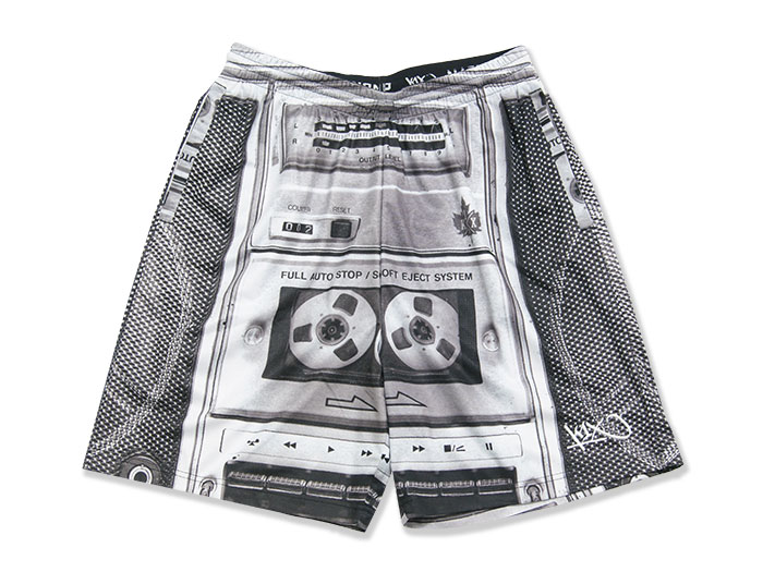 K1X Boombox Gnarly Shorts (バスケットボール プラクティスウェアー プラクティスパンツ)BLACK/WHITE【スポーツ用品 > チーム スポーツ > バスケットボール】【K1X/ケイワンエックス】/4152-4102