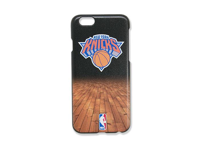 NBA iPhone6ケース KNICKS BLK (バスケットボール NBA アクセサリー・グッズ)【スポーツ用品 > チーム スポーツ > バスケットボール】【GALLERY・2】/IDAAB0008