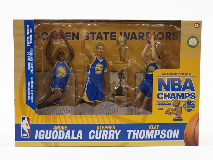 McFARLANE WARRIORS CHAMPIONSHIP 3PK 2015 (バスケットボール NBA アクセサリー・グッズ)【スポーツ用品 > チーム スポーツ > バスケットボール】【GALLERY・2】/MCF-27-2015