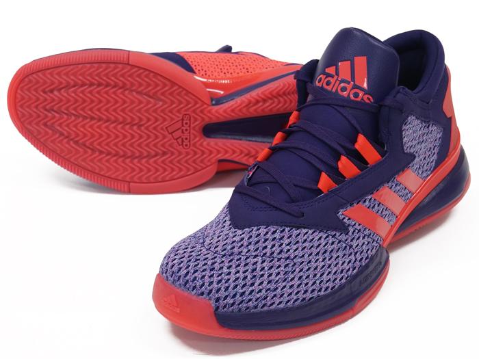 adidas STREET JAM 2 (バスケットボール シューズ シューズ)ダークパープル/ショックレッド S16/ショックレッド S16【スポーツ用品 > チーム スポーツ > バスケットボール】【adidas/アディダス】/AQ8553
