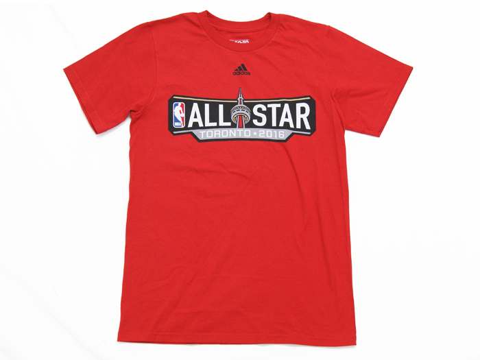 adidas AS16 Horizontal Primary TEE (バスケットボール Tシャツ 半袖Tシャツ)Red【スポーツ用品 > チーム スポーツ > バスケットボール】【adidas/アディダス】/3720A-YQX7ALL