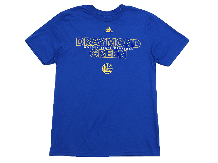 adidas NBA Awakens T (バスケットボール Tシャツ NBA)DRAYMOND GREEN(BLUE)【スポーツ用品 > チーム スポーツ > バスケットボール】【adidas/アディダス】/3720A-201603G