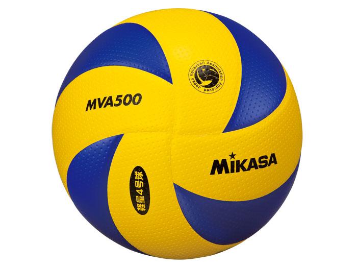 MIKASA MVA500検定球小学生バレーボール4号 (バレーボール ボール 4号球)【スポーツ用品 > チーム スポーツ > バレーボール】【MIKASA/ミカサ】/MVA500