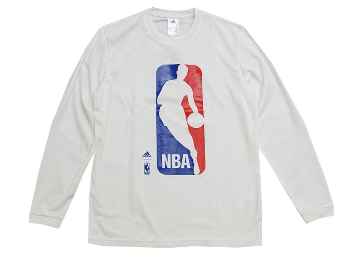 adidas NBAロゴLSTシャツ (バスケットボール NBA プラクティスウェアー)【スポーツ用品 > チーム スポーツ > バスケットボール】【adidas/アディダス】/AZ9377