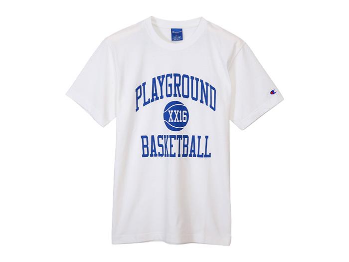 Champion グラフィックTシャツ PLAYGROUND (バスケットボール Tシャツ 半袖Tシャツ)【スポーツ用品 > チーム スポーツ > バスケットボール】【Champion/チャンピオン】/C3-JB371