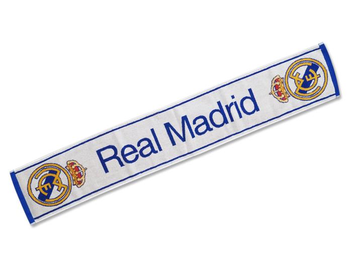 Real Madrid タオルマフラー WHITE (フットサル&サッカー アクセサリー・グッズ ネックウォーマー)Real Madrid【スポーツ用品 > チーム スポーツ > サッカー】【GALLERY・2】/RM30582