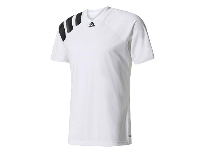 adidas TANGO ICON TRK シャツ (フットサル&サッカー プラクティスウェアー 半袖プラシャツ)ホワイト/ブラック【スポーツ用品 > チーム スポーツ > サッカー】【adidas/アディダス】/AZ9708