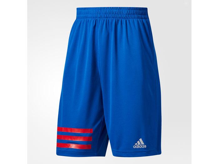 adidas MM 3S SHORT 2.0 (バスケットボール プラクティスウェアー プラクティスパンツ)カレッジロイヤル【スポーツ用品 > チーム スポーツ > バスケットボール】【adidas/アディダス】/AZ2090
