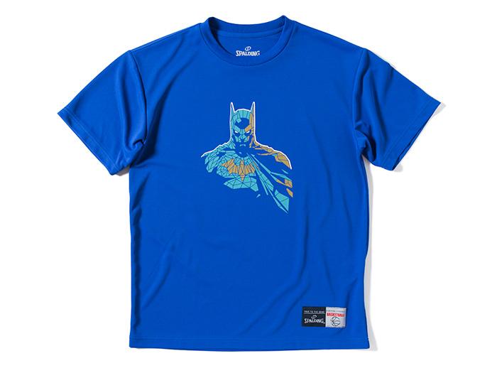 SPALDING Tシャツ BATMAN GLASS (バスケットボール プラクティスウェアー 半袖Tシャツ)【スポーツ用品 > チーム スポーツ > バスケットボール】【SPALDING/スポルディング】/SMT170190