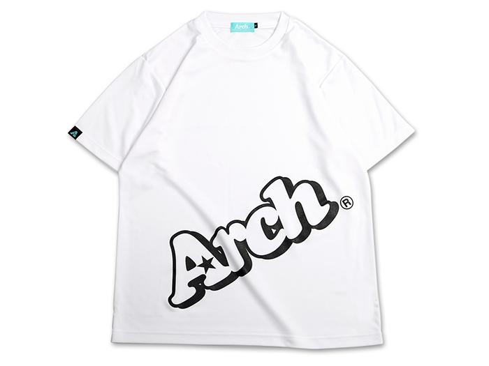 Arch Arch sloping logo tee[DRY] (バスケットボール プラクティスウェアー 半袖Tシャツ)【スポーツ用品 > チーム スポーツ > バスケットボール】【Arch/アーチ】/T17-001